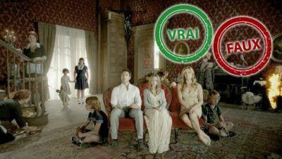 American Horror Story : impossible d'avoir 10/10 à ce quiz vrai ou faux sur la série