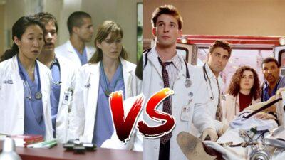 Sondage : le match ultime, tu préfères Grey's Anatomy ou Urgences ?