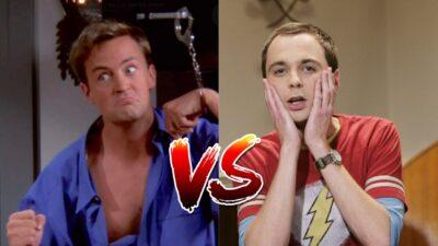 Sondage : qui est le plus drôle entre Chandler de Friends et Sheldon de The Big Bang Theory ?