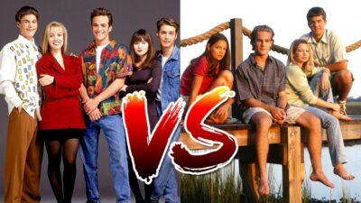 Sondage : le match ultime, tu préfères Beverly Hills 90210 ou Dawson ?