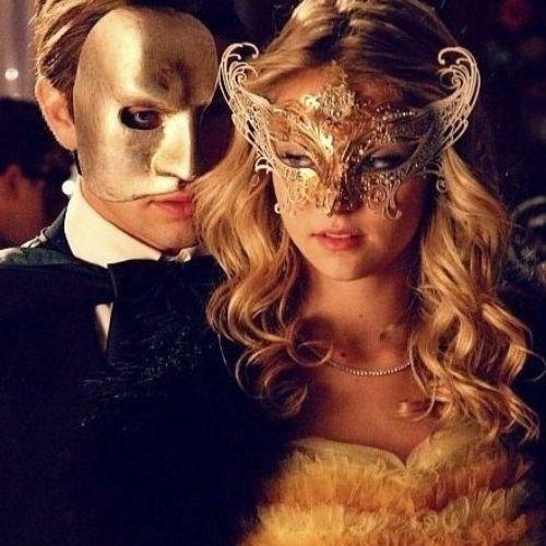 Un masque sur le visage
