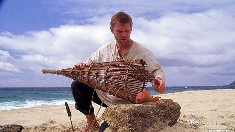 Du bon poisson fraîchement pêché sur l'île de Lost