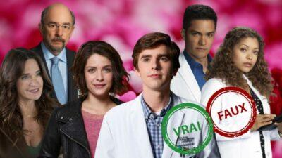 Good Doctor : seul un vrai fan aura 10/10 à ce quiz vrai ou faux sur les couples de la série
