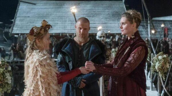 Ingrid, Bjorn et Gunnhild mariage Vikings