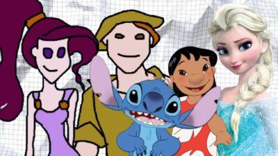 Seul un vrai fan aura 10/10 à ce quiz Pictionary version Disney