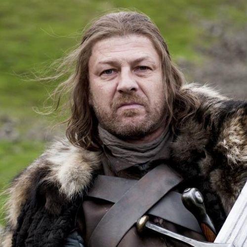 Sean Bean (Eddard Stark)