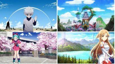 Quiz : seul un vrai fan saura de quels animes proviennent ces paysages