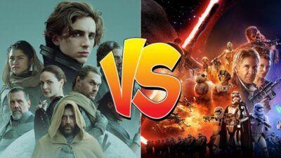 Sondage : le match ultime, tu préfères Dune ou Star Wars ?
