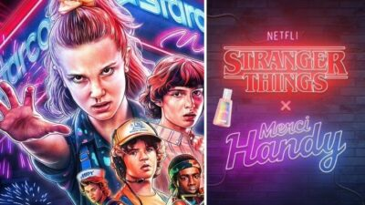 Stranger Things : Merci Handy annonce la sortie d'une collection dédiée à la série de Netflix