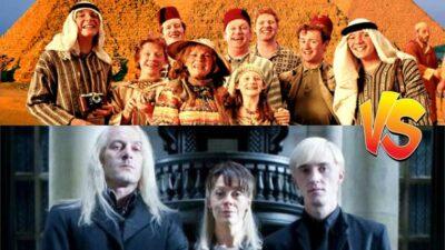 Sondage : match ultime, tu préfères la famille Weasley ou la famille Malefoy dans Harry Potter ?