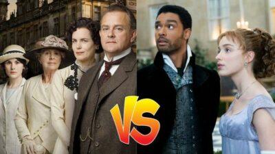 Sondage : match ultime, tu préfères Downton Abbey ou La Chronique des Bridgerton ?