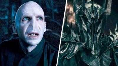 Ce quiz te dira si tu bats Voldemort (Harry Potter) ou Sauron (Le Seigneur des Anneaux)