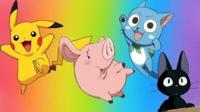 Quiz : balance ta couleur préférée, on te dira quel animal de compagnie d'anime tu adoptes
