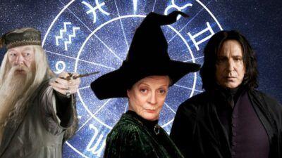 Quiz Harry Potter : donne-nous ton signe astro, on te dira quel professeur de Poudlard tu es