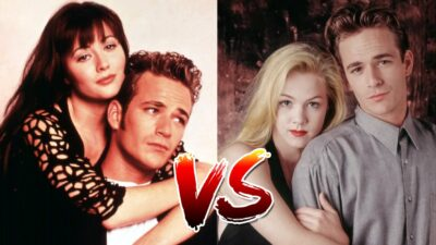 Sondage : le match ultime, tu préfères Dylan avec Brenda ou Kelly dans Beverly Hills 90210 ?