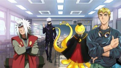 Sondage : vote pour le pire professeur d'anime/manga