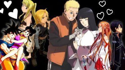 Sondage : vote pour le couple d'anime/manga que tu préfères