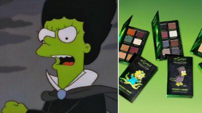 Les Simpson s'invitent chez Revolution pour une ligne de maquillage spéciale Halloween