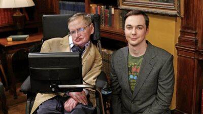 The Big Bang Theory : cette scène coupée qui rend hommage à Stephen Hawking