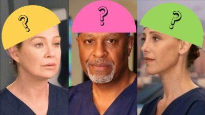 Quiz : seul un vrai fan de Grey's Anatomy saura relier le bon chirurgien à son calot