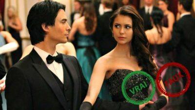 The Vampire Diaries : impossible d'avoir 10/10 à ce quiz vrai ou faux sur Damon et Elena