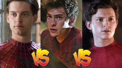 Sondage : Tom Holland, Andrew Garfield… Vote pour ton Spider-Man préféré